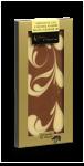 Chocolat lait caramel marbré blanc fleur de sel
