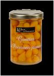 Gouttes de poivrons jaunes